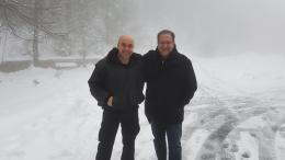 Η φωτογραφία δεν είναι από την σύσκεψη του Προέδρου Αναστασιάδη με τους συνεργάτες του. Διακρίνεται ο αναπληρωτής κυβερνητικός εκπρόσωπος Βίκτωρας Παπαδόπουλος (δεξιά) σε στιγμές χαράς... Φωτογραφία via @PapadopoulosVic