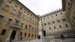 Το Βερολίνο διαμηνύει ότι η Ιταλία πρέπει να τηρήσει τους κανόνες της ΕΕ στην ανακεφαλαιοποίηση της τράπεζας MPS. EPA/MATTIA SEDDA