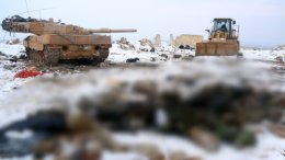 Η Τουρκία αποχωρεί από τη Συρία ισχυρίζονται οι τζιχαντιστές. Φωτογραφία via Twitter, @bjoernstritzel