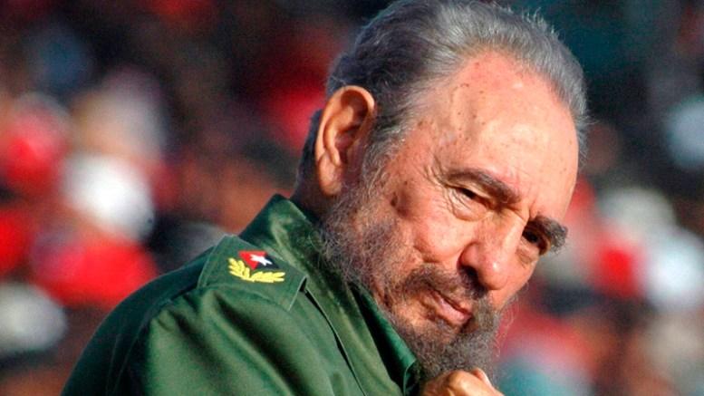 A FILE PHOTO dated 01 May 2006 showing former Cuban leader Fidel Castro posing in Havana, Cuba. EPA, ALEJANDRO ERNESTO