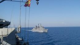 Ελληνικά πολεμικά σκάφη σε άσκηση. Φωτογραφία Αρχείου, ΑΠΕ-ΜΠΕ, ΓΡΑΦΕΙΟ ΤΥΠΟΥ ΓΕΝ, STR