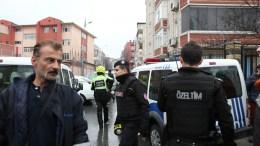 Φωτογραφία Αρχείου από επιχείρηση της τουρκικής αστυνομίας. EPA/STR
