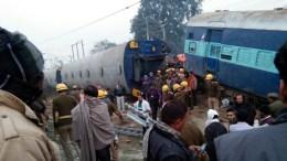 FILE PHOTO. Στους 23 νεκρούς, 64 τραυματίες ο απολογισμός από τον εκτροχιασμό  αμαξοστοιχίας στην Ινδία. EPA/STR BEST QUALITY AVAILABLE