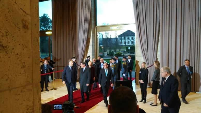 File Photo: Ο Πρόεδρος της Κυπριακής Δημοκρατίας Νίκος Αναστασιάδης εισέρχεται στο κτίριο των Ηνωμένων Εθνών. Φωτογραφία www.mignatiou.com