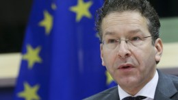 President of Eurogroup, Dutch Finance Minister, Jeroen Dijsselbloem. EPA/OLIVIER HOSLET