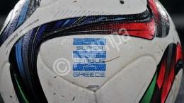 Φωτογραφικό στιγμιότυπο με τη μπάλα του αγώνα, κατά τη διάρκεια του αγώνα ΑΕΚ-ΛΕΒΑΔΕΙΑΚΟΣ για το Πρωτάθλημα της Σούπερ Λιγκ στο ΟΑΚΑ, τη Δευτέρα 21 Δεκεμβρίου 2015. Τελικό αποτέλεσμα ΑΕΚ-Λεβαδειακός 1-2. ΑΠΕ-ΜΠΕ/ΑΠΕ-ΜΠΕ/ΠΑΝΑΓΙΩΤΗΣ ΜΟΣΧΑΝΔΡΕΟΥ
