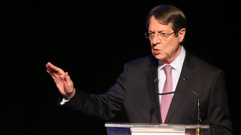 Ο Πρόεδρος της Κύπρου Νίκος Αναστασιάδης. Φωτογραφία ΣΤ. ΙΩΑΝΝΙΔΗΣ