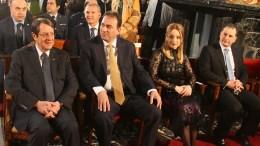 Ο Πρόεδρος της Δημοκρατίας κ. Νίκος Ανασταστιάδης στη Γιορτή του Αγίου Μάρωνα. Φωτογραφία ΣΤ. ΙΩΑΝΝΙΔΗΣ
