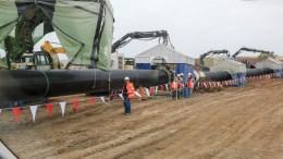 Ξεκίνησε η κατασκευή του σταθμού υποδοχής σε τουρκικό έδαφος του αγωγού Turkish Stream.  ΦΩΤΟΓΡΑΦΙΑ ΑΡΧΕΙΟΥ. ΑΠΕ-ΜΠΕ/ΔΗΜΗΤΡΗΣ ΑΛΕΞΟΥΔΗΣ