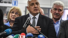 Bulgarian prime minister and leader of centre-right GERB party Boiko Borisov. EPA, GEORGI LICOVSKI