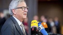 EU Commission President Jean-Claude Juncker. EPA/STEPHANIE LECOCQ