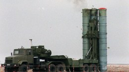 FILE PHOTO. An S-400 missile is launched under testing. EPA PHOTO EPA/STR/IS AP POOL
