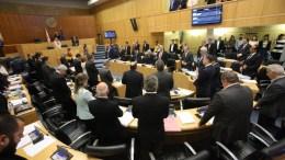 Στιγμιότυπο από συνεδρίαση της Κυπριακής Βουλής . ΚΥΠΕ, ΚΑΤΙΑ ΧΡΙΣΤΟΔΟΥΛΟΥ