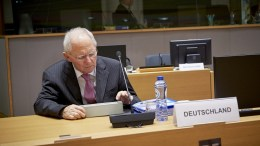 Mr Wolfgang SCHAUBLE, German Federal Minister for Finance. Coryright: European Union
