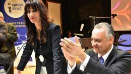 Ο Ευρωβουλευτής Μιχάλης Κεφαλογιάννης (Δ) σε εκδήλωση για τα 60 χρόνια της Συνθήκης της Ρώμης με την οποία ιδρύθηκε η Ευρωπαϊκή Ένωση. ΑΠΕ-ΜΠΕ, ΜΠΟΥΓΙΩΤΗΣ ΕΥΑΓΓΕΛΟΣ