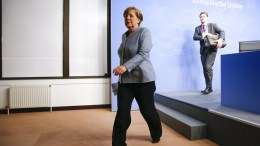 German Federal Chancellor Angela Merkel. EPA, JULIEN WARNAND