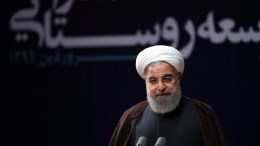 FILE PHOTO. Iranian president Hassan Rouhani speaking in Tehran. FILE PHOTO.  EPA, IRANIAN PRESIDENTIAL OFFICIAL WEBSITE HANDOUT, EDITORIAL USE ONLY