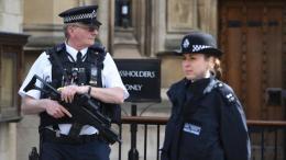 Σε επιφυλακή η αστυνομία έπειτα από πληροφορίες για ύποπτο δέμα στον σιδηροδρομικό σταθμό Κινγκς Κρος του Λονδίνου. Ο σταθμός λειτουργεί κανονικά. Φωτογραφία Αρχείου: ΚΥΠΕ.