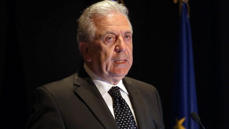 Ο Επίτροπος Εσωτερικών Υποθέσεων και Ιθαγένειας στην ΕΕ Δημήτρης Αβραμόπουλος. ΑΠΕ-ΜΠΕ/ΑΠΕ-ΜΠΕ/Αλέξανδρος Μπελτές