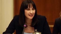 Η υπουργός Τουρισμού, Έλενα Κουντουρά. ΑΠΕ-ΜΠΕ, Αλέξανδρος Μπελτές