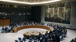 File Photo: Συνεδρίαση του Συμβουλίου Ασφαλείας του ΟΗΕ. EPA, JASON SZENES