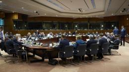 Σύνοδος Κορυφής της Ευρωπαϊκής Ένωσης στις Βρυξέλλες για το Brexit. ΚΥΠΕ.