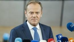 FILE PHOTO. European Council President Donald Tusk. EPA/JULIEN WARNAND