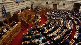 H αίθουσα της Ολομέλειας της Βουλής των Ελλήνων.  ΑΠΕ-ΜΠΕ / ΑΠΕ-ΜΠΕ / ΑΛΕΞΑΝΔΡΟΣ ΒΛΑΧΟΣ