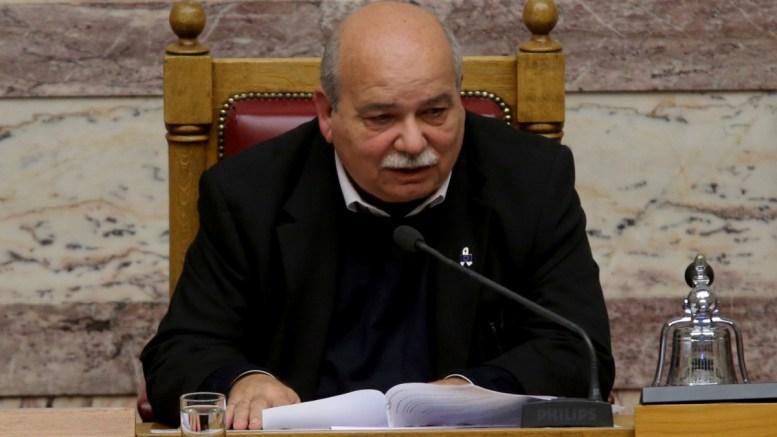 Ο πρόεδρος της Βουλής Νίκος Βούτσης. ΦΩΤΟΓΡΑΦΙΑ ΑΡΧΕΙΟΥ. ΑΠΕ-ΜΠΕ/Παντελής Σαίτας