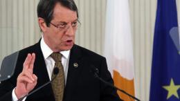 Ο πρόεδρος της Κυπριακής Δημοκρατίας Νίκος Αναστασιάδης. ΦΩΤΟΓΡΑΦΙΑ ΚΥΠΕ.