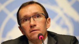 O Ειδικός Σύμβουλος του ΟΗΕ, Έσπεν Μπαρθ Άιντε. ΚΥΠΕ.