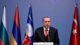 President of Turkey Recep Tayyip Erdogan. FILE PHOTO. EPA/BERK OZKAN / ANADOLU AGENCY / POOL
