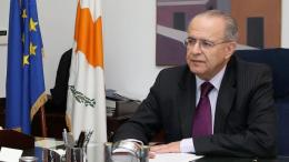 Ο υπουργός Εξωτερικών της Κύπρου, Ιωάννης Κασουλίδης. Φωτογραφία: ΚΥΠΕ.