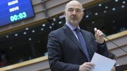 European Commissioner in charge of Economic and Financial Affairs Pierre Moscovici. EPA, OLIVIER HOSLET