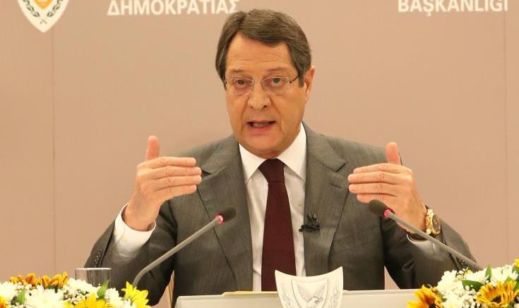 Ο Πρόεδρος της Κυπριακής Δημοκρατίας, Νίκος Αναστασιάδης, ΚΥΠΕ.