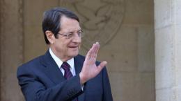 Ο Πρόεδρος της Κυπριακής Δημοκρατίας, Νίκος Αναστασιάδης. Φωτογραφία ΚΥΠΕ.
