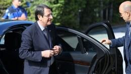 FILE PHOTO. Ο Προεδρος της Δημοκρατίας κ. Νίκος Αναστασιάδης φτάνει στη Διάσκεψη για το Κυπριακό στο Crans Montana της Ελβετίας. ΚΥΠΕ, ΚΑΤΙΑ ΧΡΙΣΤΟΔΟΥΛΟΥ