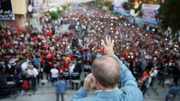 Ο Πρόεδρος της Τουρκιας Ταγίπ Ερντογάν. Φωτογραφία ΤΟΥΡΚΙΚΗ ΠΡΟΕΔΡΙΑ