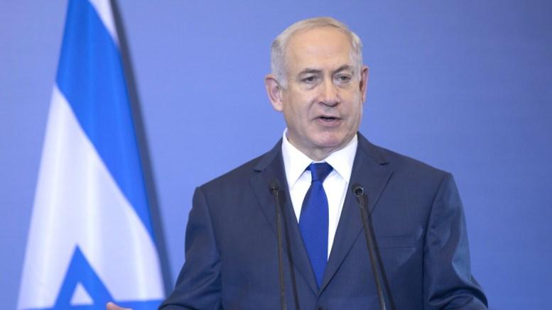 ΦΩΤΟΓΡΑΦΙΑ ΑΡΧΕΙΟΥ. Ο πρωθυπουργός του Ισραήλ Μπέντζαμιν Νετανιάχου μιλάει κατά τη διάρκεια της συνέντευξης τύπου.  ΑΠΕ ΜΠΕ/PIXEL/ΣΩΤΗΡΗΣ ΜΠΑΡΜΠΑΡΟΥΣΗΣ