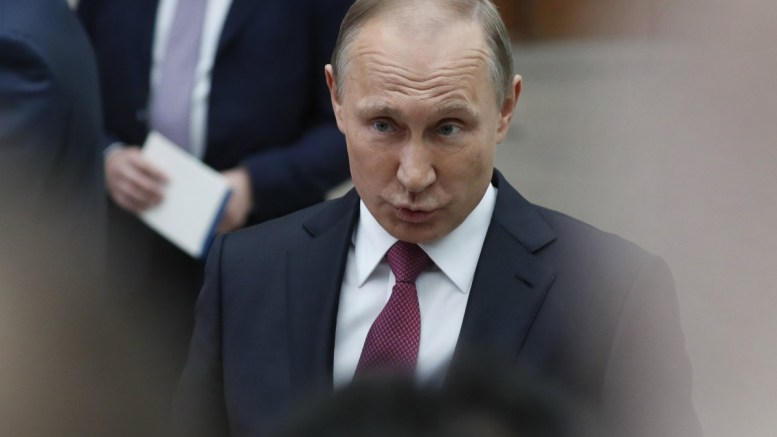 FILE PHOTO. Russian President Vladimir Putin. EPA, YURI KOCHETKOV