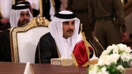 FILE PHOTO. Qatari Emir, Sheikh Tamim bin Hamad Al Thani. EPA, ALI HAIDER