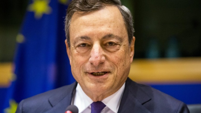 FILE PHOTO. Mario Draghi, President of the European Central Bank (ECB) and Chair of the European Systemic Risk Board in Brussels, Belgium. EPA/STEPHANIE LECOCQ