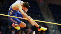 O παγκόσμιος πρωταθλητής του επί κοντώ Κώστας Φιλιππίδης . Φωτογραφία ΑΠΕ-ΜΠΕ