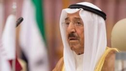 FILE PHOTO. A handout photo made available by the Saudi Press Agency (SPA) shows Emir of Kuwait Sheikh Sabah al-Ahmad al-Sabah. EPA/SAUDI PRESS AGENCY HANDOUT HANDOUT EDITORIAL USE ONLY/NO SALES