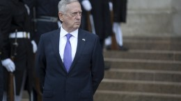 US Secretary of Defense James Mattis at the Pentagon in Arlington, Virginia, USA. FILE PHOTO. EPA/SHAWN THEW