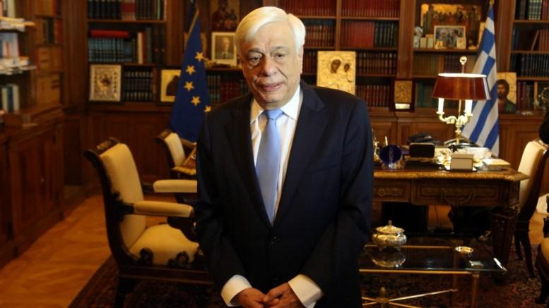 O Πρόεδρος της Δημοκρατίας, Προκόπης Παυλόπουλος. ΑΠΕ-ΜΠΕ/Αλέξανδρος Μπελτές.