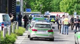 Φωτογραφία Αρχείου Police and emergency vehicles in Munich.  EPA/MARC MUELLER