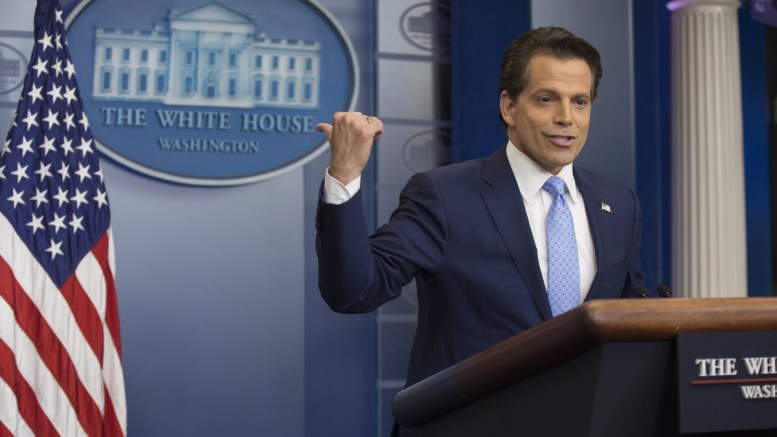 File Photo: Former White House Communications Director Anthony Scaramucci attends a news conference in the James Brady Press Briefing Room of the White House after former White House Press Secretary Sean Spicer resigned, in Washington, DC, USA. EPA, MICHAEL REYNOLDS