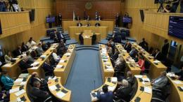 File Photo: Στιγμιότυπο από την επετειακή συνεδρία της Βουλής για καταδίκη του πραξικοπήματος και της εισβολής. Φωτογραφία ΚΥΠΕ.