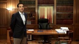File Photo: Ο πρωθυπουργός Αλέξης στο Μέγαρο Μαξίμου, μετρά κέρδη και ζημίες απο τις σημερινές συναντησεις. ΑΠΕ-ΜΠΕ, ΣΥΜΕΛΑ ΠΑΝΤΖΑΡΤΖΗ